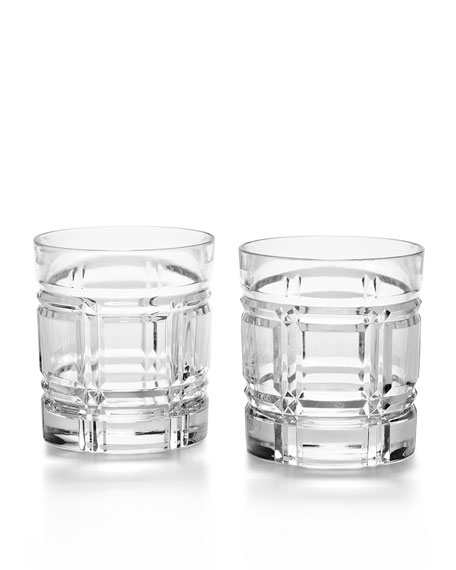 Greenwich Double Old-Fashioneds, Set of 2