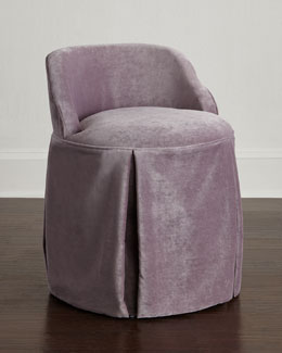 Greer Skirted Vanity Seat