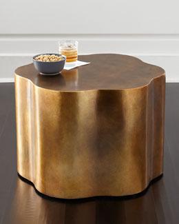 Orla Copper Accent Table