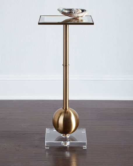 Superior Fiona Brass End Table