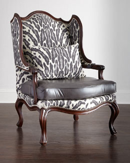 Zahara Leather Chair