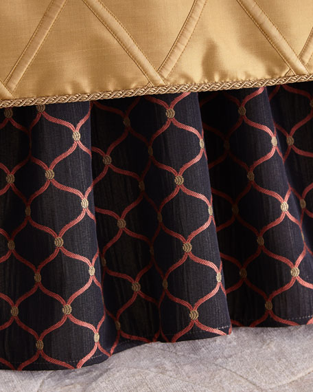 Austin Horn Collection Queen Royale Ogee Dust Skirt