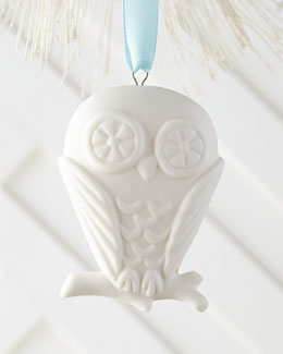 Owl Christmas Ornament