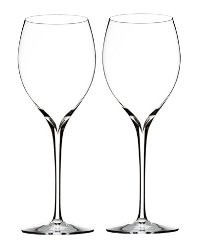 Elegance Chardonnay Wine Glasses  Set of 2