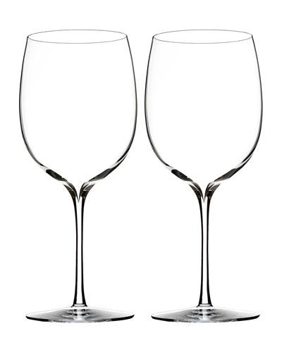 Elegance Bordeaux Glasses  Set of 2