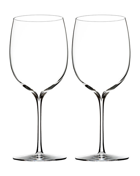 Elegance Bordeaux Glasses, Set of 2