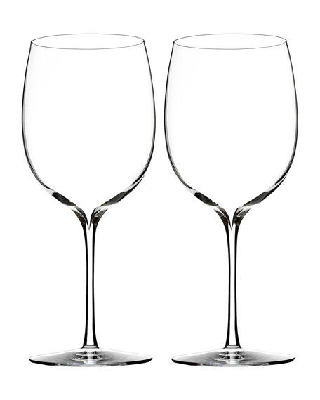Elegance Bordeaux Glasses, Set of 2