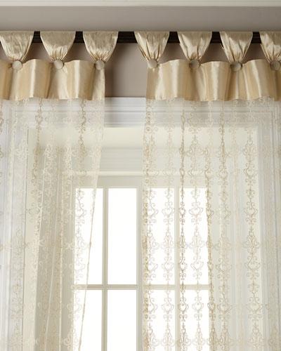 54W x 108L Elizabeth Lace Curtain