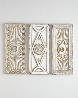Cecilia Wall Plaques, 3-Piece Set