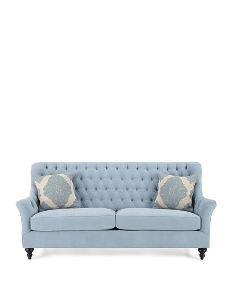 Jazmine Tufted Velvet Sofa