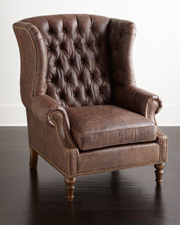 Carlotta Leather Chair