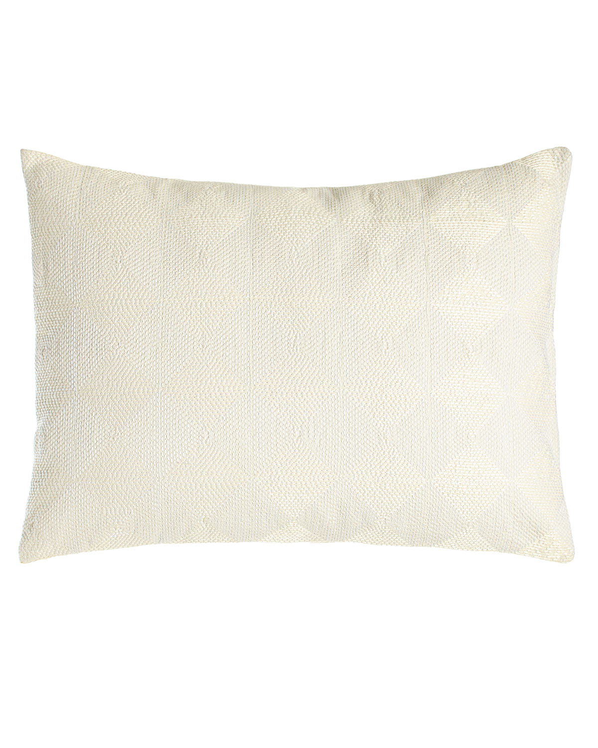 Vera Wang Sti Thread Counthed Concentric Squares Pillow 12 Quot X 16 Quot