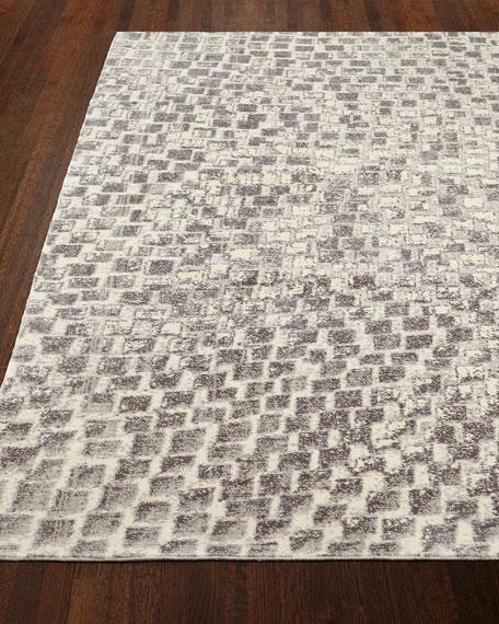 "Cream Tile Rug, 7'9"" x 9'9"""
