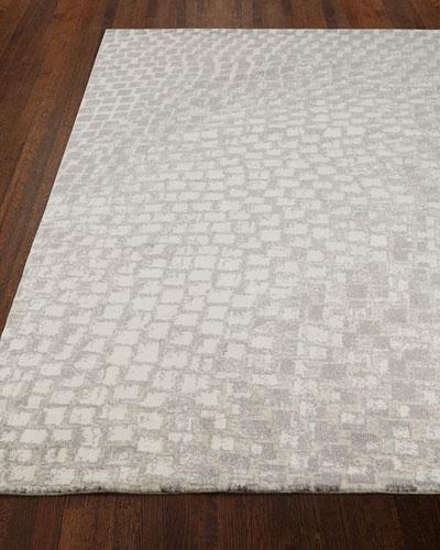 Cream Tile Rug, 9'9