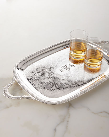 Monogram-Engraved Tray