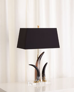 Bernard Three-Horn Lamp