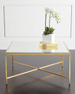 Larissa Mirrored Coffee Table