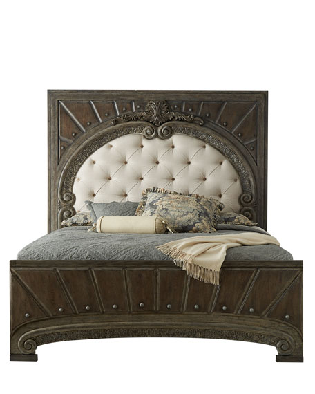 Raleigh King Panel Bed