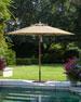 Taupe Standard Canopy Outdoor Umbrella
