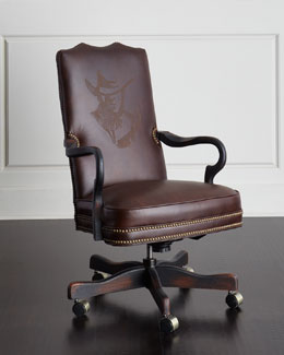 Clint Leather Office Chair