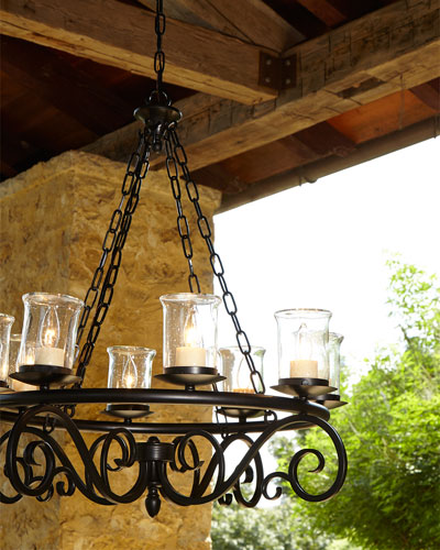 Outdoor 8-Light Chandelier