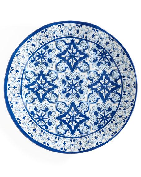 Talavera Azul Melamine Dinner Plates Set of 4  sc 1 st  Horchow & Talavera Azul Melamine Dinnerware