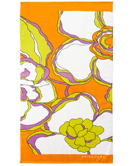 Gardenia Beach Towel, 36
