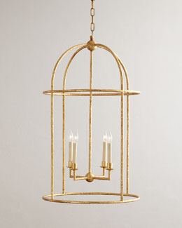Desmond 4-Light Cage Lantern