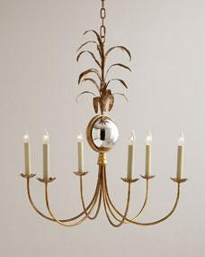 Visual Comfort Gramercy Medium 6-Light Chandelier