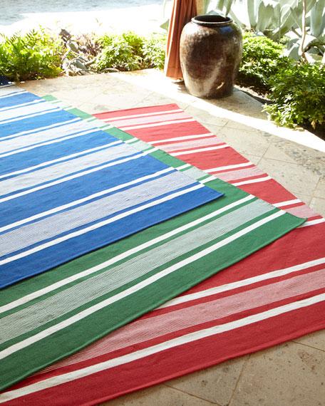 Harborview Stripe Indoor/Outdoor Rug, 8' x 10'