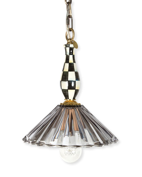 MacKenzie-Childs Courtly Ballerina Pendant Lamp