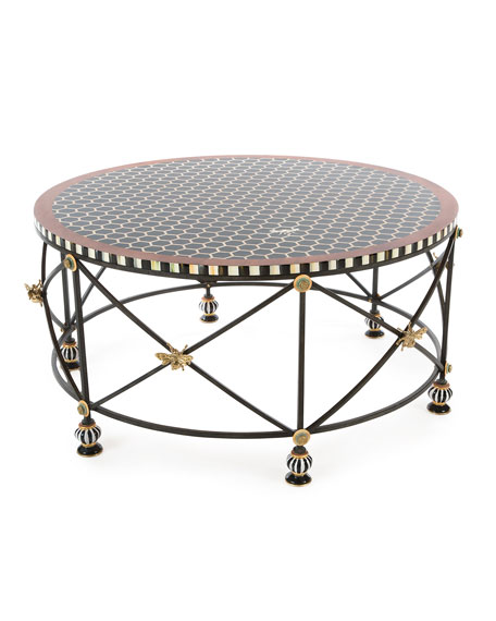 Honeycomb Round Coffee Table