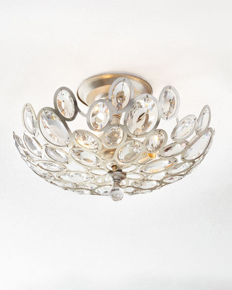Crystal ovals 3 light flush mount ceiling fixture audiocablefo