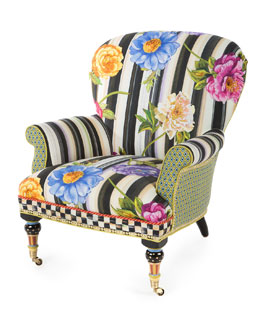 Cutting Garden Accent Chair