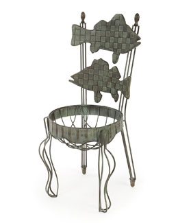 Fish Chair Planter