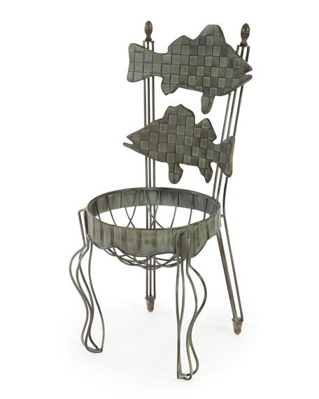 Fish Chair Planter