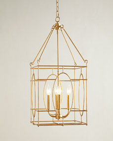 Fallon 4-Light Lantern Chandelier