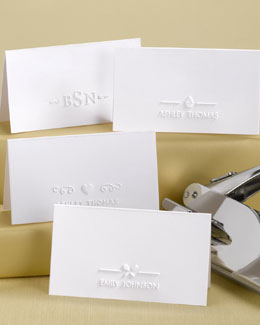 Heart Place Card Embosser