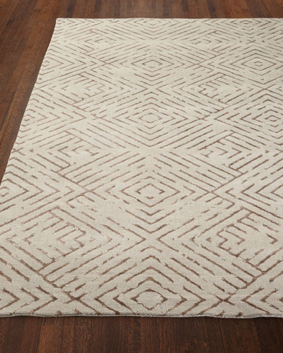 Understated Luxe Rug  6' x 9'