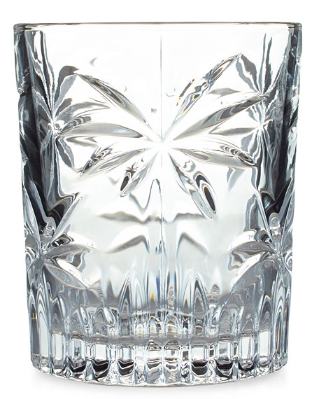 Palm Double Old-Fashioneds, Set of 4