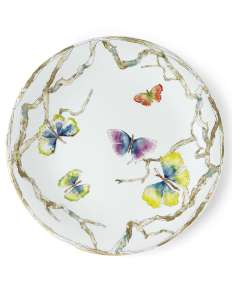 4-Piece Butterfly Gingko Dinnerware Place Setting