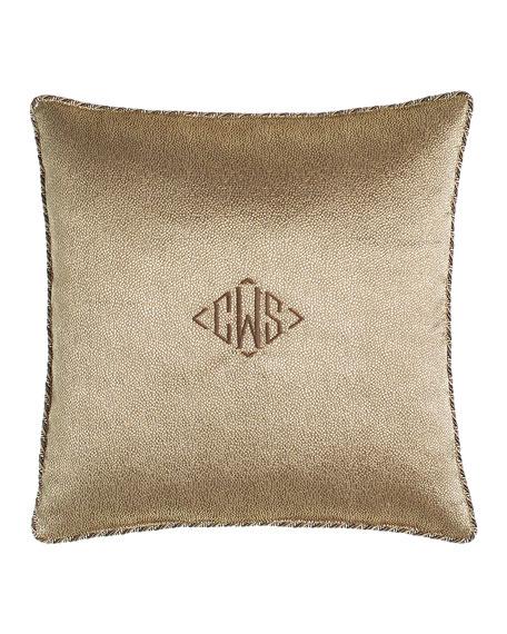 Monogrammed Raffaello Pillow