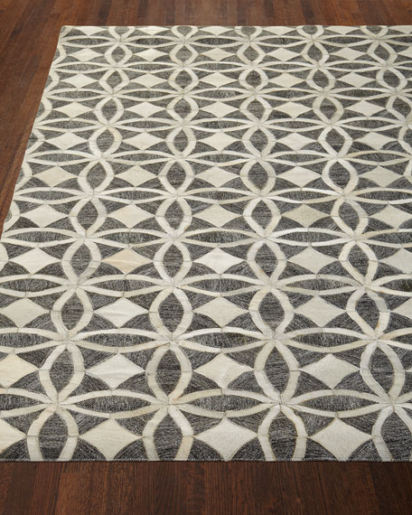 Killian Hairhide Rug, 5' x 7'6""