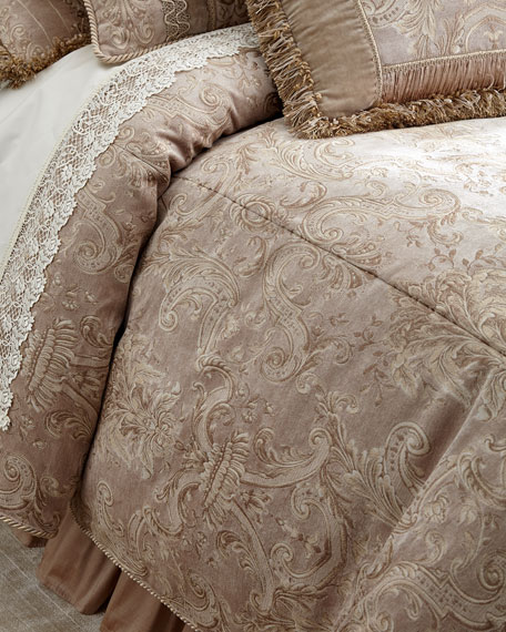 Queen Dahlia Duvet Cover