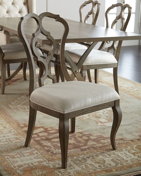 Gant Side Chairs, Pair
