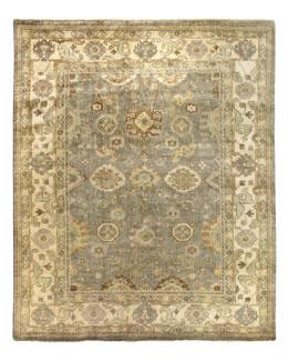Modo Blue Oushak Rug, 8' x 10'