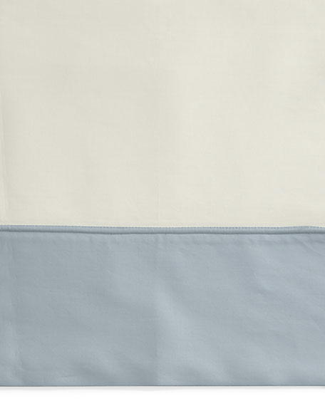Two Standard Emilia 624TC Pillowcases