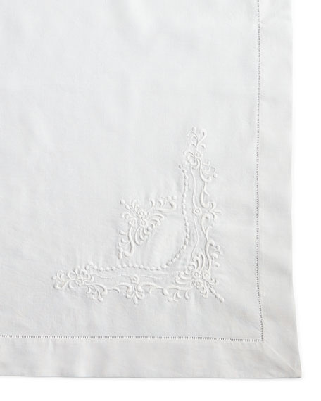Boutross Imports Italian Crest Tablecloth, 68