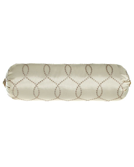 "Cynthia Neckroll Pillow, 8"" x 23"""