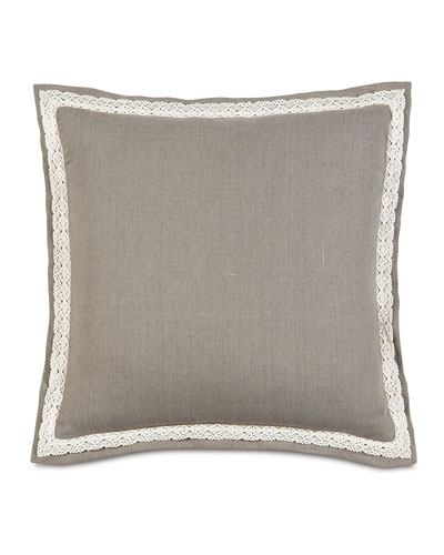 European Breeze Linen Pillow  27Sq.